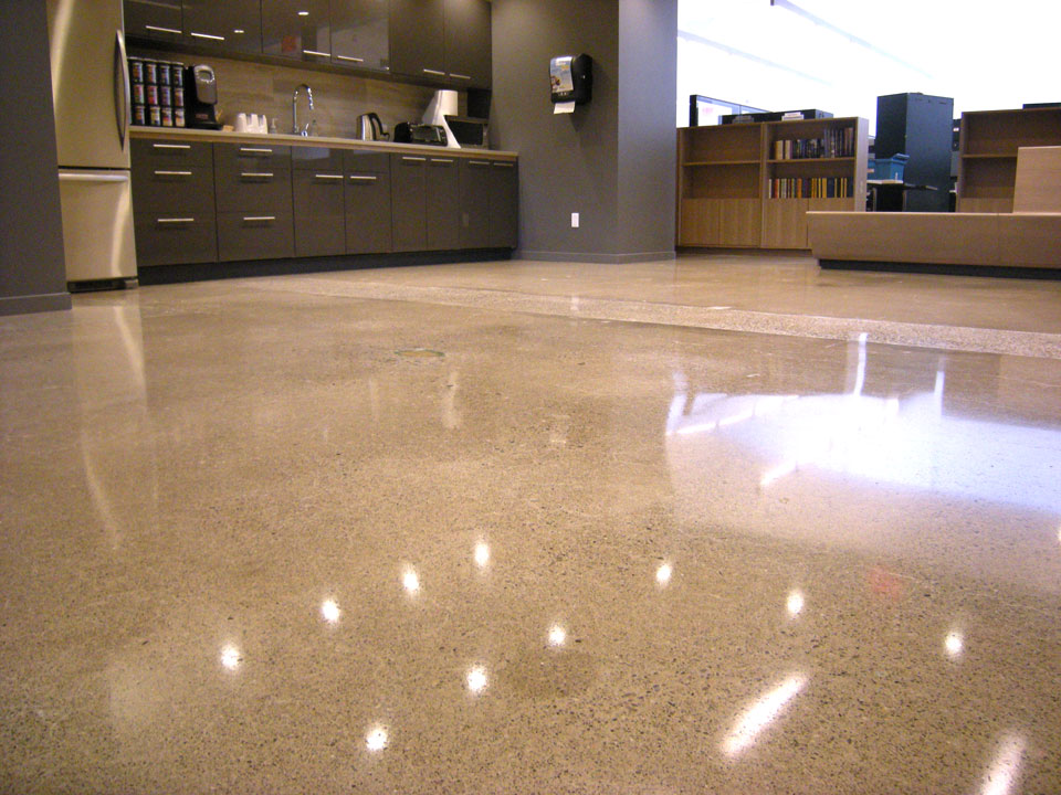 Beautiful Polished Concrete Floors For The Business